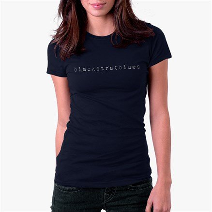 Blackstratblues Blue T-shirt - Women's