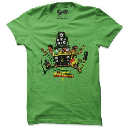 Rasta Ride - Green T-shirt [Pre-order - Ships on 24th December 2018]