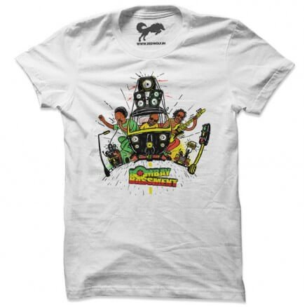 Rasta Ride - White T-shirt [Pre-order - Ships on 24th December 2018]