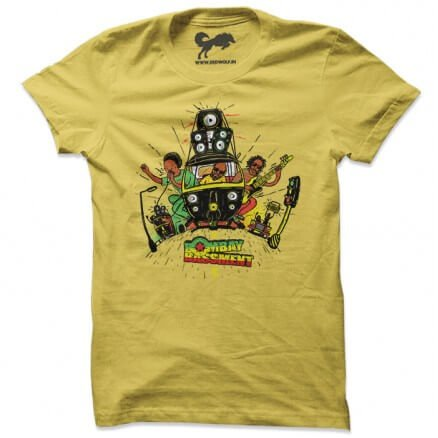 Rasta Ride - Yellow T-shirt [Pre-order - Ships on 24th December 2018]