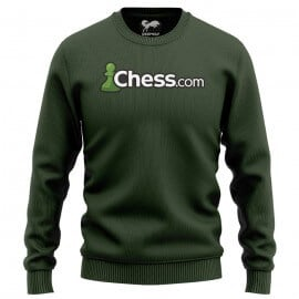 Chess.com Classic (Olive) - Light Pullover