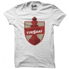 Titled Tuesday (White) - T-shirt