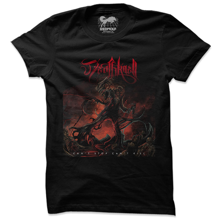 Can't Stop, Can't Kill - Deathknell Official Tshirt