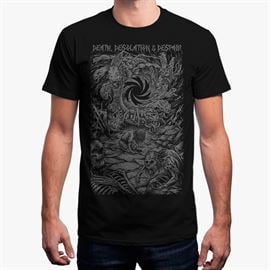 Demonic Resurrection: Death Desolation and Despair T-Shirt