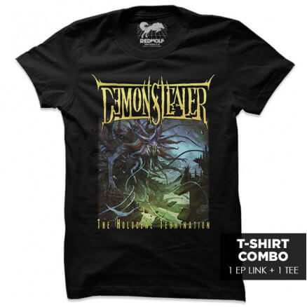 The Holocene Termination - T-shirt + EP Combo - [Pre-Order - EP Available After 3rd Dec 2021]