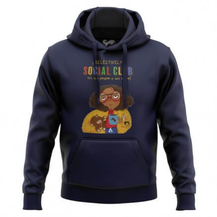 Selectively Social Club (Navy) - Hoodie