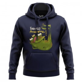Toadally Awesome (Navy) - Hoodie