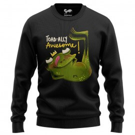 Toadally Awesome (Black) - Light Pullover