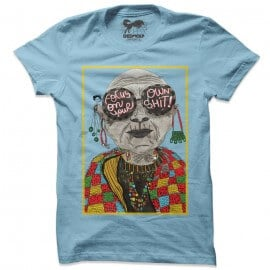 Focus On Your Own Shit (Light Blue) - T-shirt