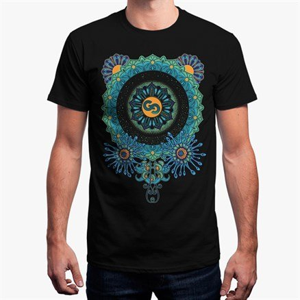 Goddess Gagged: Mandala T-shirt