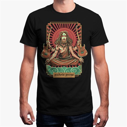 Guthrie Govan India Tour T-shirt (Black)