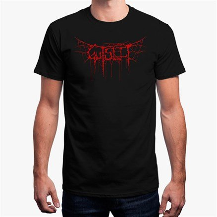 Gutslit: Red Logo - Men's T-shirt