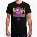 Enough Jibber Jabber (Black) - Men's T-Shirt