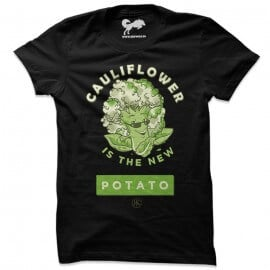 Cauliflower (Black) - T-Shirt