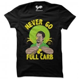 Full Carb (Black) - T-Shirt