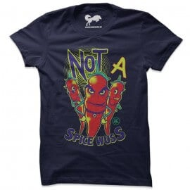Spice Wuss (Navy Blue) - T-Shirt