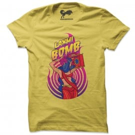 Laxmi Bomb 'Crackers' - Yellow T-shirt