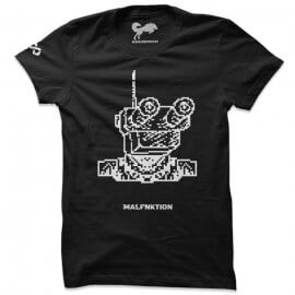 Malfnktion T-shirts - Black