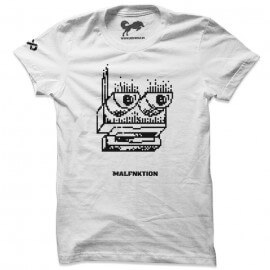 Malfnktion T-shirts - White
