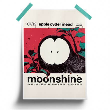 Apple Cyder - Moonshine Official Poster