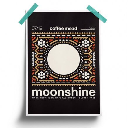 Coffee - Moonshine Official Poster