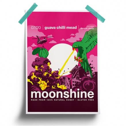 Guava Chilli - Moonshine Official Poster