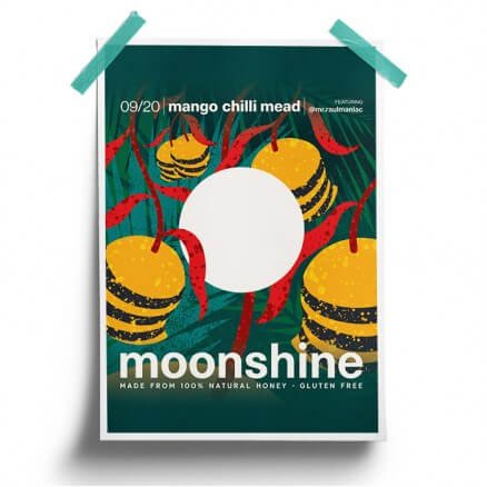 Mango Chilli - Moonshine Official Poster