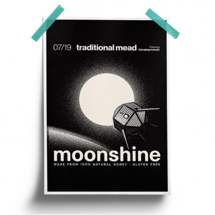 Traditional - Moonshine Official Poster