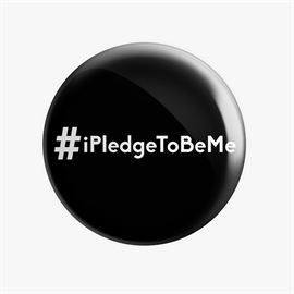 MostlySane: I Pledge To Be Me Badge