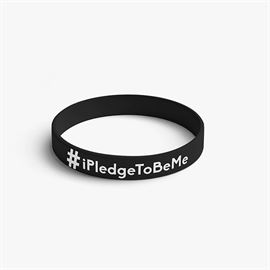 MostlySane: I Pledge To Be Me Wristband