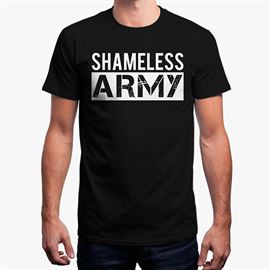 MostlySane: Shameless Army T-shirt [Pre-order - Ships 29th September]