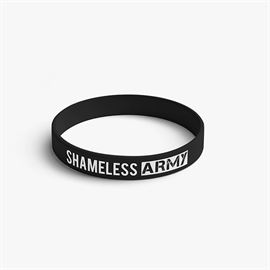 MostlySane: Shameless Army Wristband