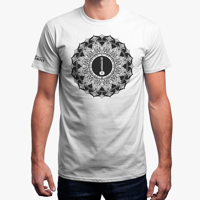 Mute The Saint T-Shirt - White