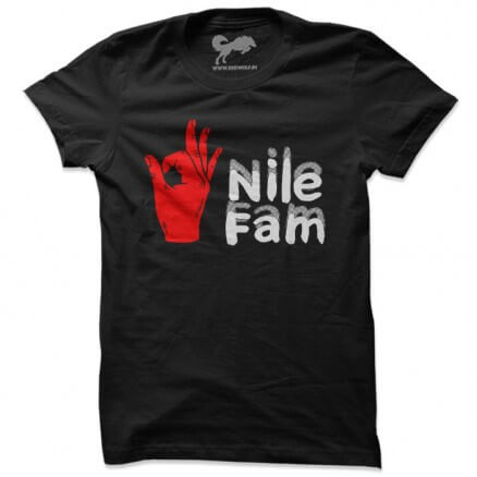 Nile Fam Tee [Pre-order - Ships On 10th January 2019]