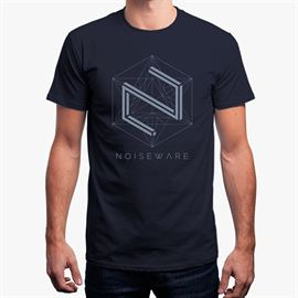 Noiseware: Parallax - Navy Blue T-shirt [Pre order - Ships 7th February 2018]
