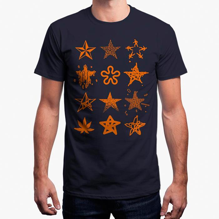 Pentagram: Stars Aligned - Navy Blue T-shirt