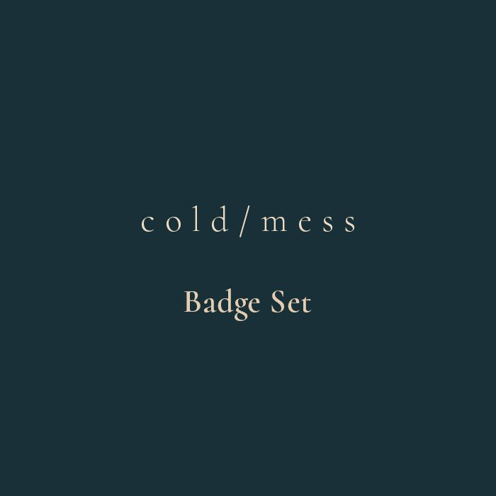 cold/mess Badge Set - Pack Of 6