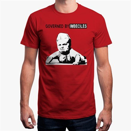 Punk On Toast: Governed By Imbeciles - T-shirt