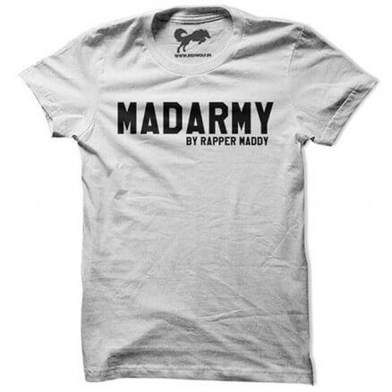 Madarmy - White T-shirt [Preorder - Ships on 20th October 2018]