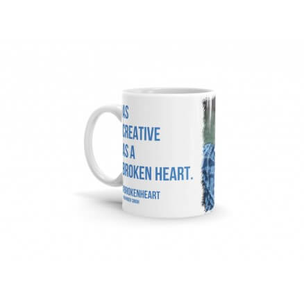 Ravinder Singh Coffee Mug - Broken Heart