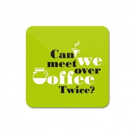 Ravinder Singh Coaster - Coffee Meet