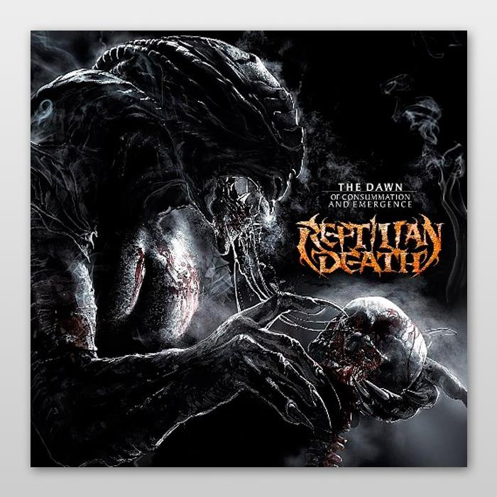 Reptilian Death - The Dawn Of Consummation And Emergence CD