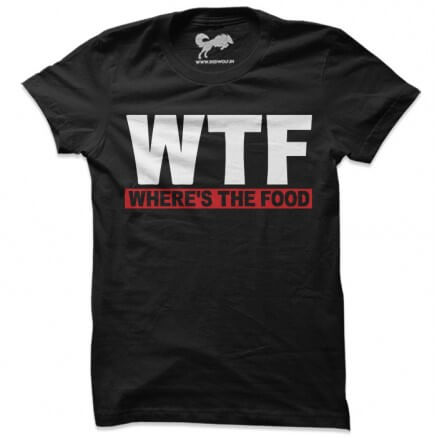 Where's The Food - Red [Pre-order - Ships on 15th November 2019]