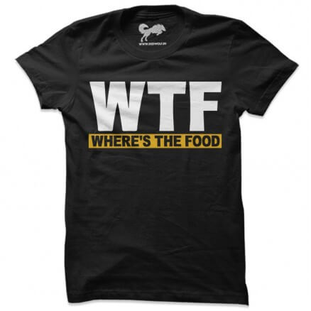 Where's The Food - Yellow [Pre-order - Ships on 15th November 2019]