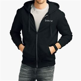 Sanam: Logo Hoodie - Black [Pre-order - Ships 29th January 2018]