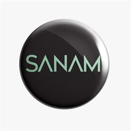 Sanam: Logo - Badge [Pre-order - Ships 24th January 2018]