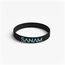 Sanam: Logo - Black Reversible Wristband [Pre-order - Ships 24th January 2018]