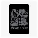 Sanam: #FabFour Instruments - Fridge Magnet [Pre-order - Ships 24th January 2018]
