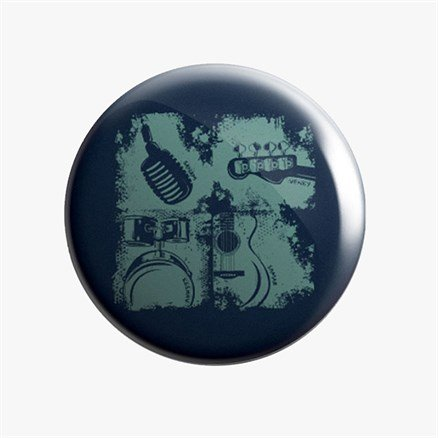 Sanam: #FabFour Instruments - Badge [Pre-order - Ships 24th January 2018]