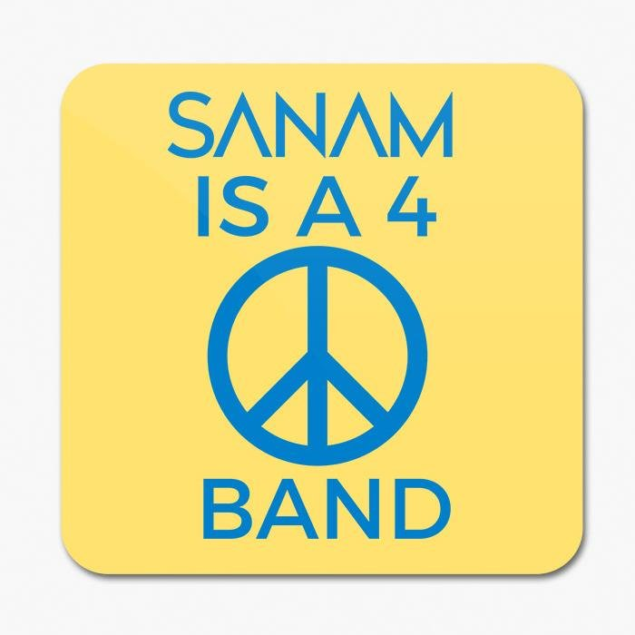 Sanam Is A 4 Peace Band - Coaster [Pre-order - Ships 24th January 2018]